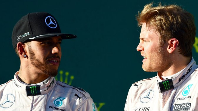 Rosberg wins drama-filled Melbourne race