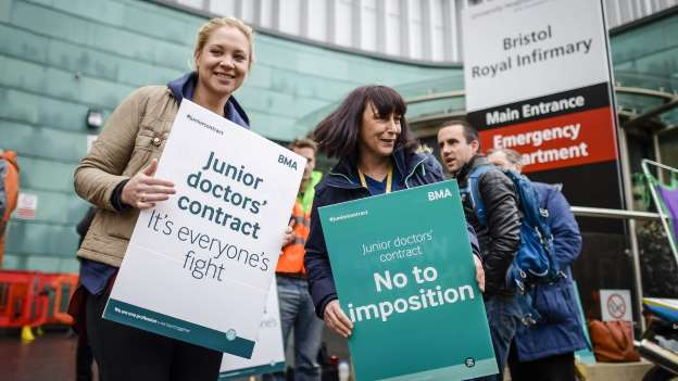 Junior Doctors strike again